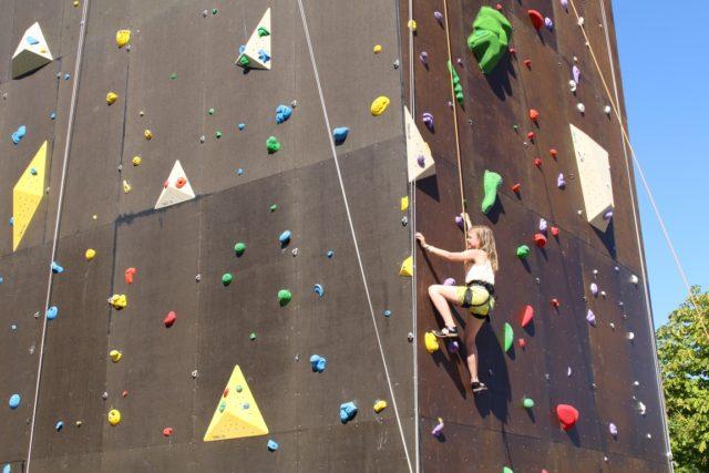 Lidt billeder fra klatring