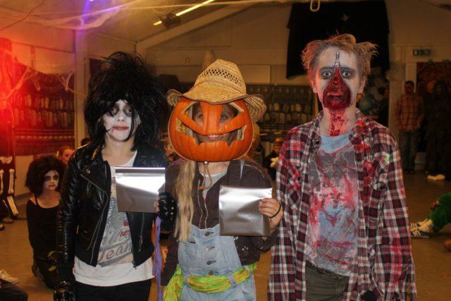 Billeder fra Halloweenfesten