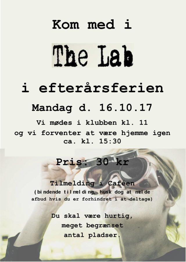Tur til The Lab D. 16/10-2017